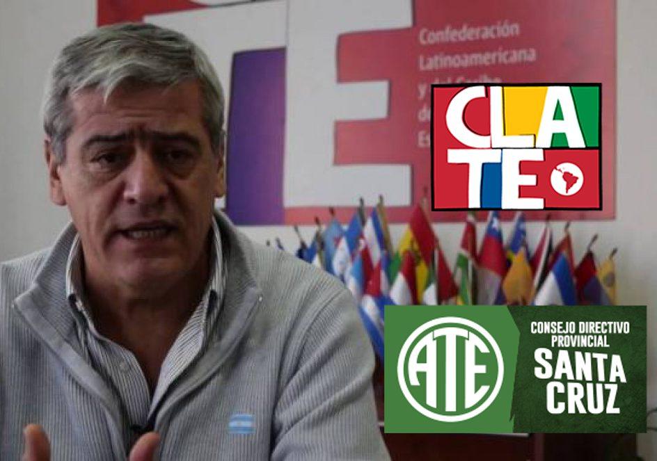 ATE Santa Cruz repudia espionaje a compañeros de CLATE durante el Macrismo