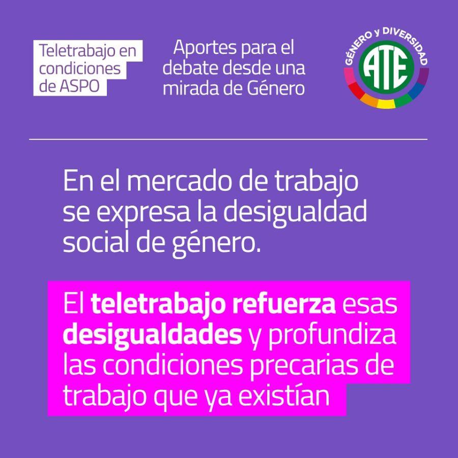 Compañeras de todo el país debatieron el documento Teletrabajo en ASPO