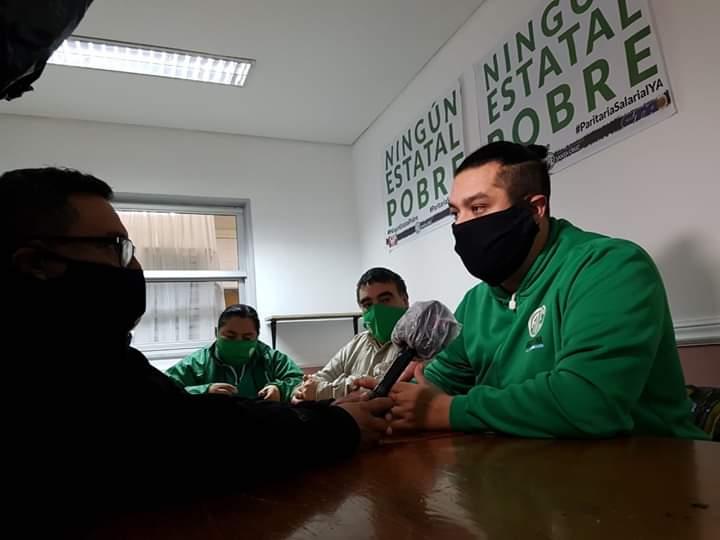 """Carlos Garzón: """"La paritaria fue una muestra más de desprecio hacia las y los trabajadores"""""""