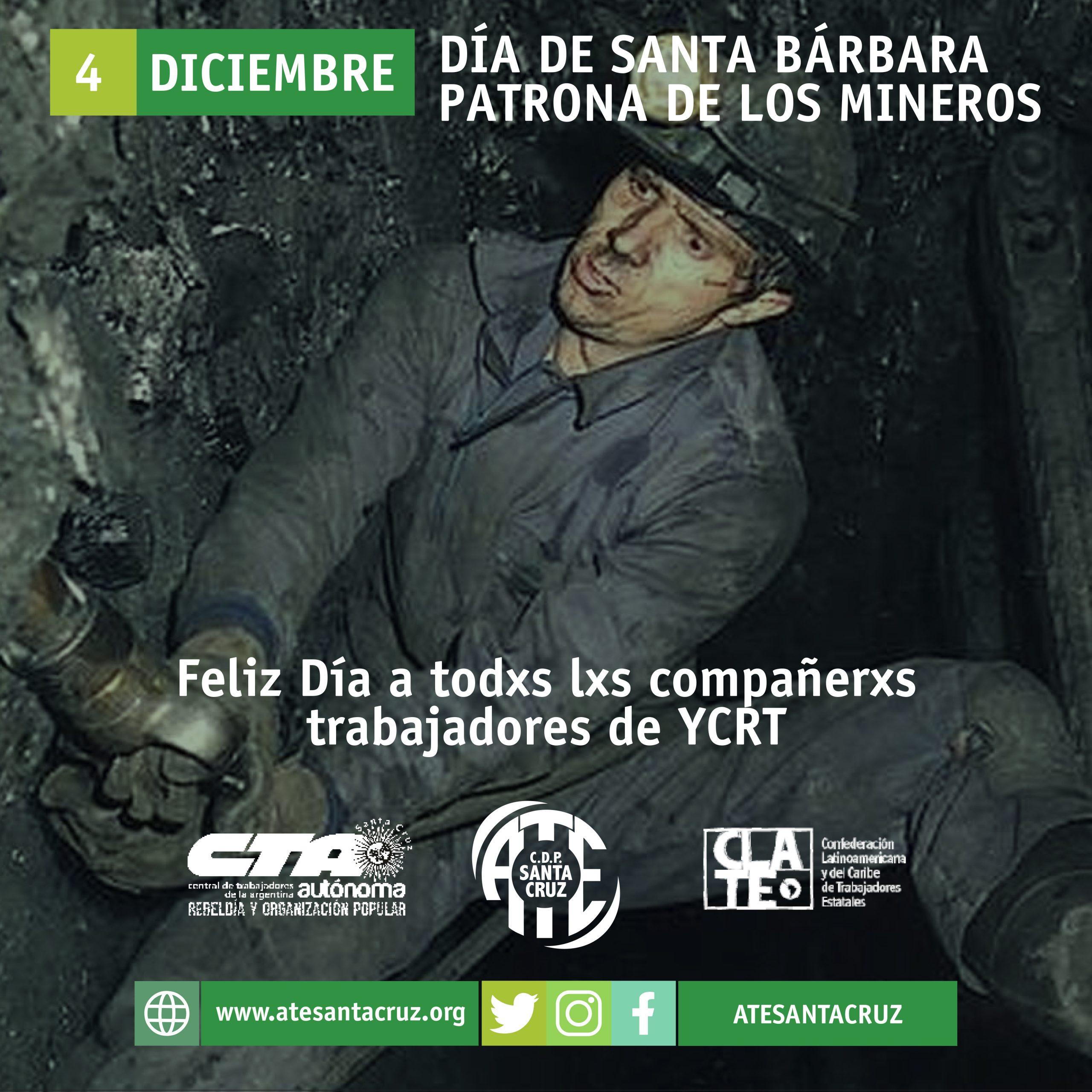 Feliz Día del Minero y vamos por la carboelectrica!!