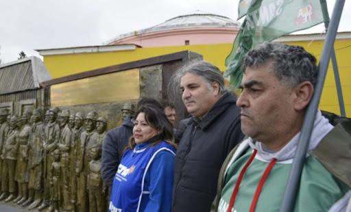 ATE Santa Cruz es parte de la Mesa Centenario de la Patagonia Rebelde