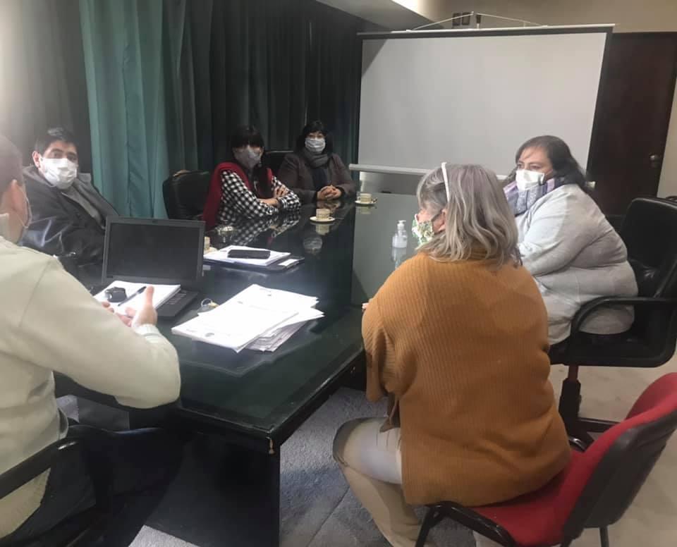 Con la presencia de la Secretaria General ATE Busca abrir la discusión del convenio colectivo en Pico Truncado