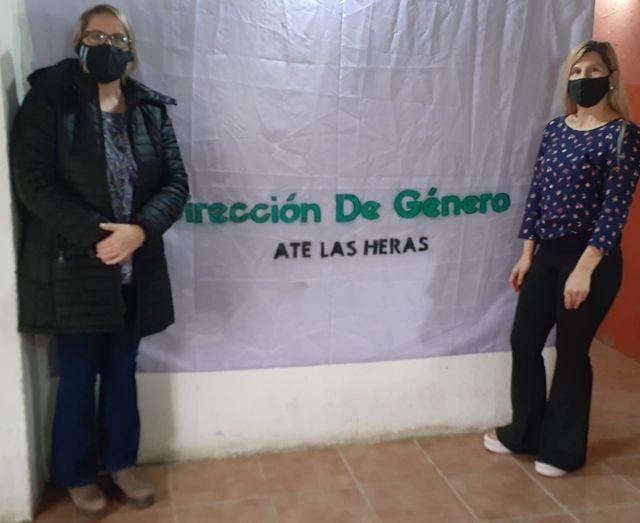 ATE denuncia violencia laboral y de Género en Las Heras